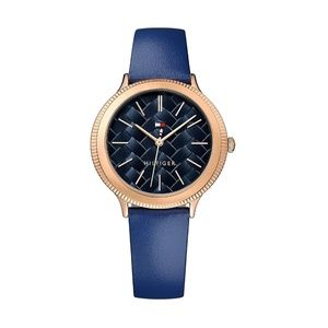 Tommy Hilfiger Candice Leather Band Women's Watch